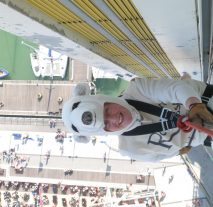 Abseiling Spinnaker Tower