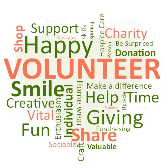 volunteer heart white background