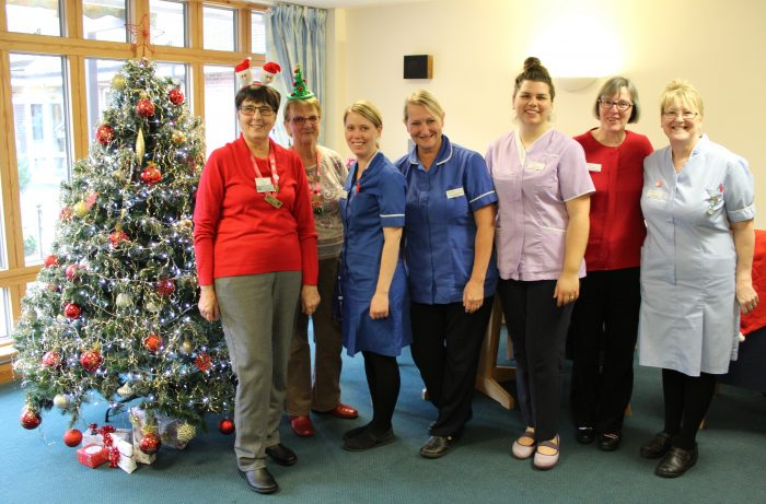 Our volunteers, nurses, housekeeping assistants, spiritual care chaplain and support workers are all here Christmas Day.