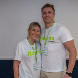Rowans does Strictly audition at The Pyramids Centre, Southsea