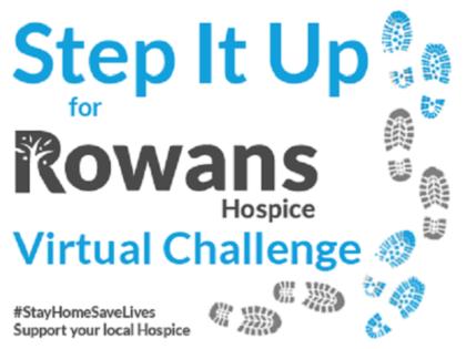 Rowans Step It Up website
