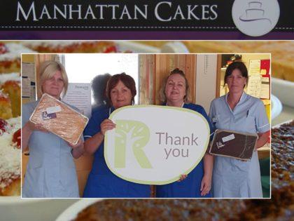 Manhattan cakes thank you Insta