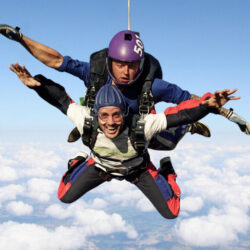 Skydive web events listing & ft image