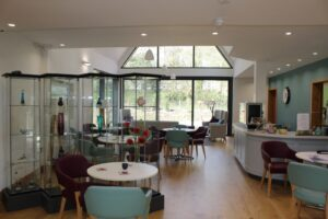 Living Well Centre interior